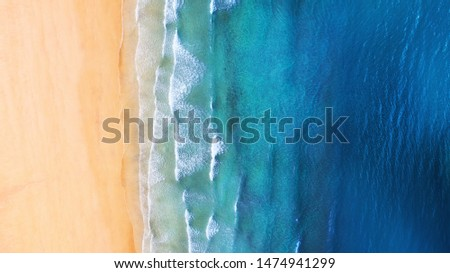 Iceland. Panoramic aerial view on the coast line. Beach and sea from air. Famous place in Iceland. Summer seascape from drone. Travel - image #1474941299