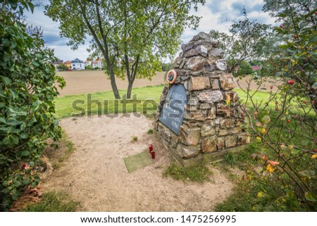 The burial mound Mohyla at White Mountain in Prague, Czech Republic #1475256995
