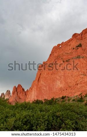 Garden Of The Gods In Colorado Springs Colorado Kissing