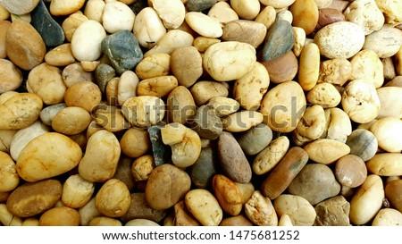 Stone background, stone, stone surface, yellow orange stone #1475681252