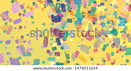 Art wallpaper. Digital canvas mix. 2d illustration. Texture backdrop painting. Creative chaos structure element matrix material creation bitmap. #1476011654