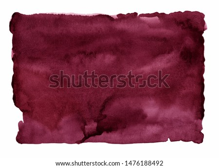 dark red watercolor stain, burgundy background