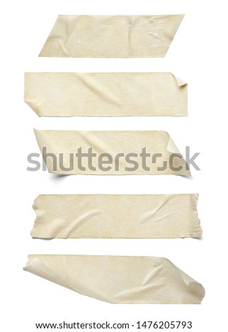 close up of an adhesive tape on white background #1476205793