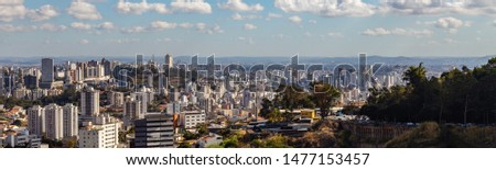 View of Belo Horizonte City Belo Horizonte at morning. Minas Gerais/Brazil. #1477153457