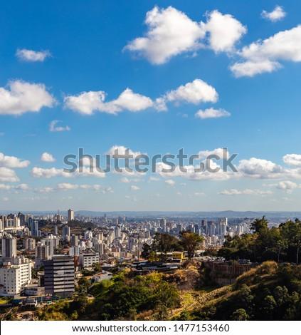 View of Belo Horizonte City Belo Horizonte at morning. Minas Gerais/Brazil. #1477153460