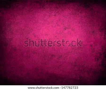 abstract pink background or purple paper with bright center spotlight and black vignette border frame with vintage grunge background texture pink paper layout design of light colorful graphic art