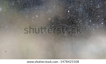 blurry dirty mirror window focus detail, use for abstract background or wallpaper Royalty-Free Stock Photo #1478425508