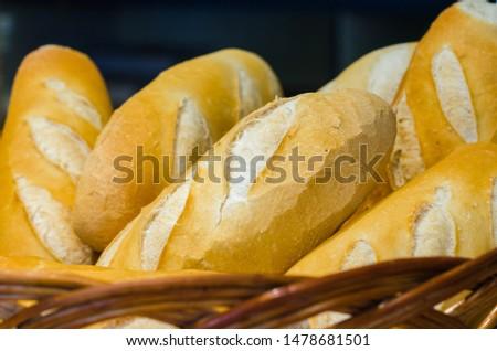 Brazilian delicius Mini baguette bread  #1478681501