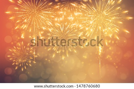 aesthetic fireworks background no people #1478760680