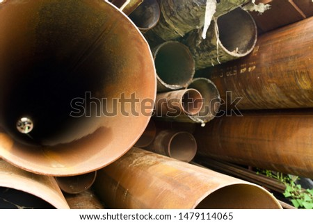 Storage warehouse for rolled steel, steel pipes and steel angle #1479114065