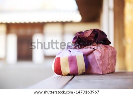Celebration image of Korea,traditional gift box and lucky bag #1479163967