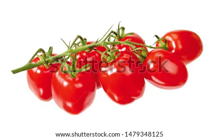 ripe red tomatoes on white background #1479348125