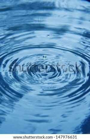 falling drop of water #147976631