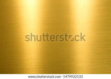 Gold background. Rough golden texture. Luxurious gold paper template for your design. #1479922133