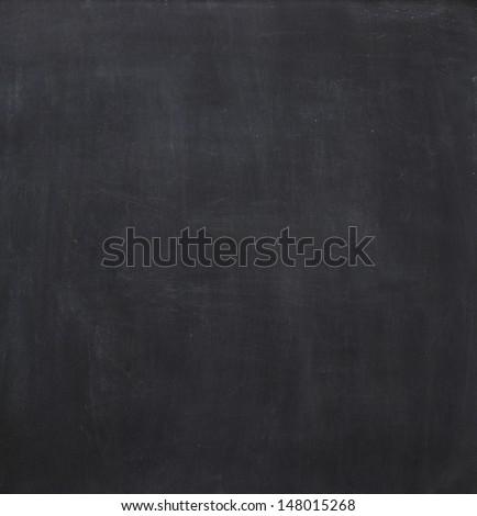 Blank chalkboard, blackboard texture background.