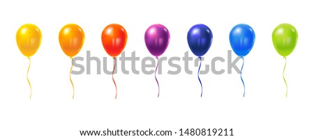 Lettering Happy Birthday to you, isolated on white background. Vector illustration. EPS 10.