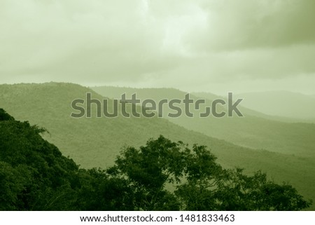 Mountains and forests that nature creates #1481833463