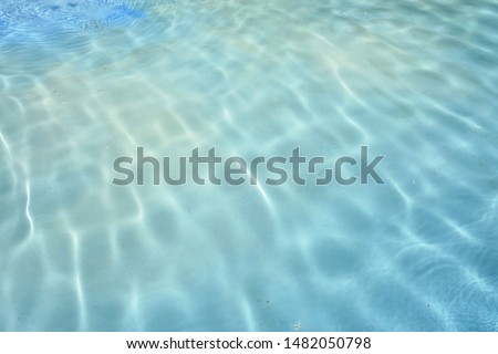 the waves and ripples of the water in the pool of Tosca as background #1482050798