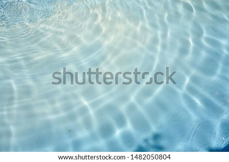 the waves and ripples of the water in the pool of Tosca as background #1482050804