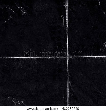 Square Grunge Folded Paper Texture. Authentic Folded and Distressed Paper Texture Perfect for Backgrounds and Social Media Post. - Texture/Photograph Royalty-Free Stock Photo #1482350240
