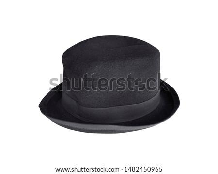 black hat isolated white background #1482450965
