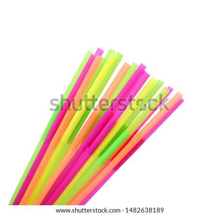 Straw plastic straw drink straw - Image  #1482638189