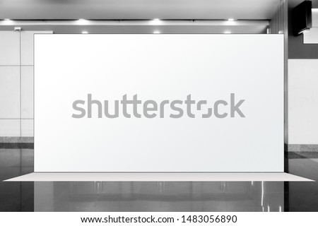 Fabric Pop Up basic unit Advertising banner media display backdrop, empty background  #1483056890