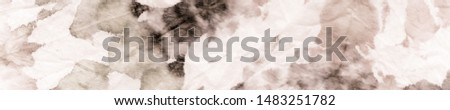 Brown Tie Dye Batik. Grungy Aquarelle Texture. Artistic Dirty Canva. Beige Watercolor Paintbrush. Brown Traditional Dyed. Paper Oil Brush. Brushed Texture. Graphic Dyed. #1483251782