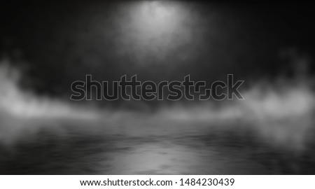 Abstract blurry background with smoke. 3d render #1484230439