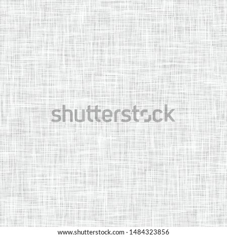 Detailed woven fabric texture.  Seamless repeat vector pattern swatch.  Light gray colors.  Very detailed.  Large file.  Great for home decor. Royalty-Free Stock Photo #1484323856