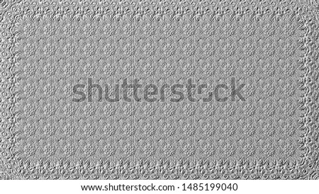 Black and white relief convex pattern for design #1485199040