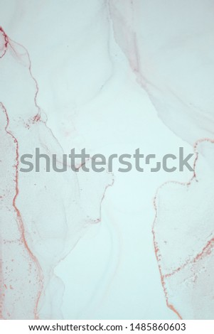 The picture is painted in alcohol ink. Abstraction will perfectly fit into a modern interior. Closeup of the painting. Colorful abstract painting background. Highly-textured oil paint. #1485860603