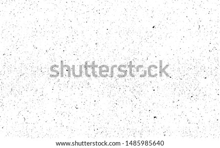Rough black and white texture vector. Distressed overlay texture. Grunge background. Abstract textured effect. Vector Illustration. Black isolated on white background. EPS10. #1485985640