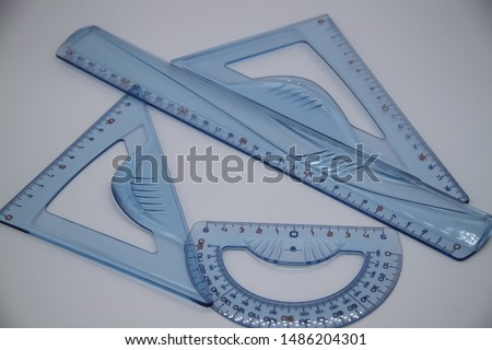school supplies, ruler, bevel, square and angle carrier for back to school #1486204301