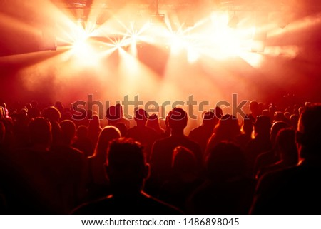 crowd of people at concert #1486898045