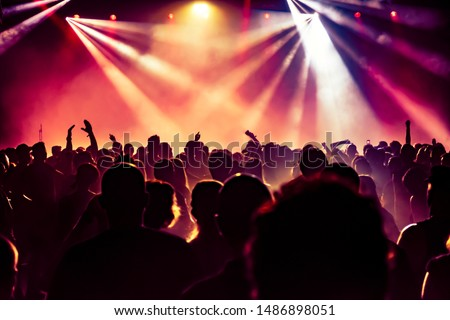 crowd of people at concert #1486898051