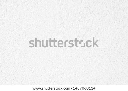 Abstract white cement or concrete wall texture for background. Paper texture,  Empty space. #1487060114