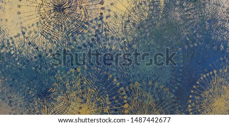 Brush painting. Artistic canvas mix form. Oil art matrix. 2d illustration. Texture backdrop. Creative chaos structure element material creation bitmap figures. Acrylic vivid variety. #1487442677