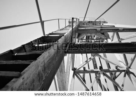 structure ladder height mine tourism #1487614658