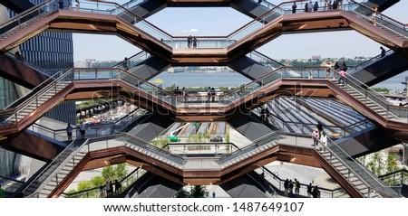 The Vessel at Hudson Yards  #1487649107