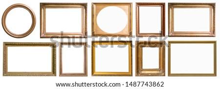 Frames a picture antiques set