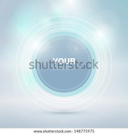Beautiful Vector Frame Background