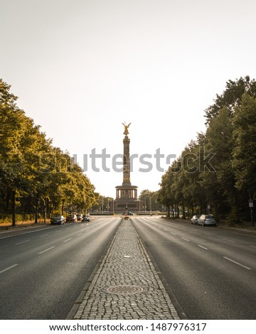 Historical tower in Berlin, Germany #1487976317