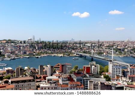 Beautiful Istanbul!  mosque, Bosphorus, buildings, bridge #1488888626