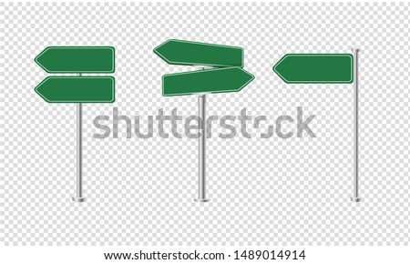 Sign Street Big Set Isolated With Gradient Mesh, Vector Illustration Royalty-Free Stock Photo #1489014914