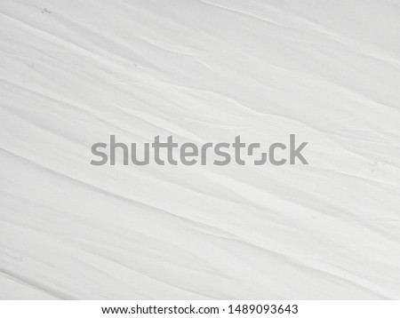 Soft white wrinkled fabric background for graphic design or wallpaper. #1489093643