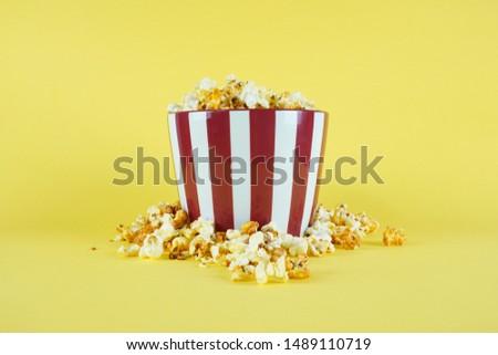 movie, cinema video concept. movie clapper board with copy space. #1489110719