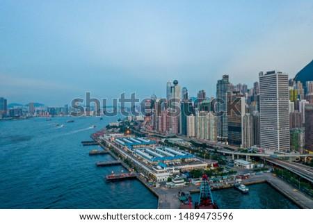 23 Aug 2019 Hong Kong Island at summer  #1489473596