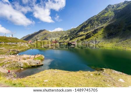 Glacier lake in the Fagaras Mountain #1489745705
