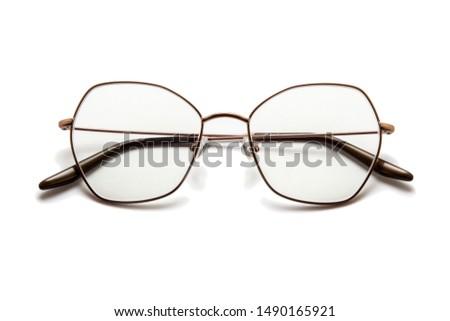 Eyeglasses isolated on white background #1490165921